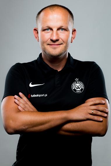 Wojciech Tomaszewski, asystent trenera w Warcie Poznań