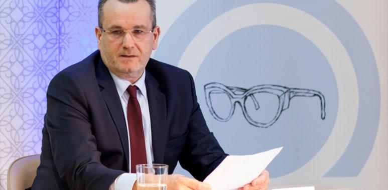 Wieńczysław Bloch, właściciel firmy Bloch Optyk, sponsor Warty Poznań S.A.