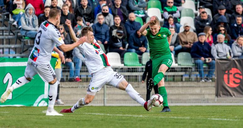 Warta Poznań - GKS Tychy 1:1. Grzegorz Szymusik