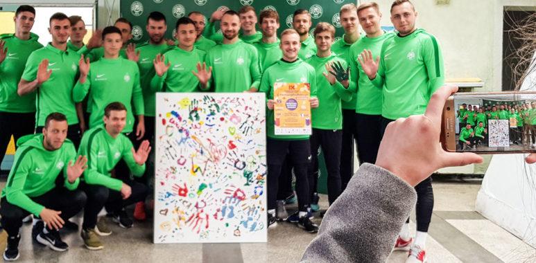 Warta Poznań w akcji #ZmalujmyCoŚDobrego