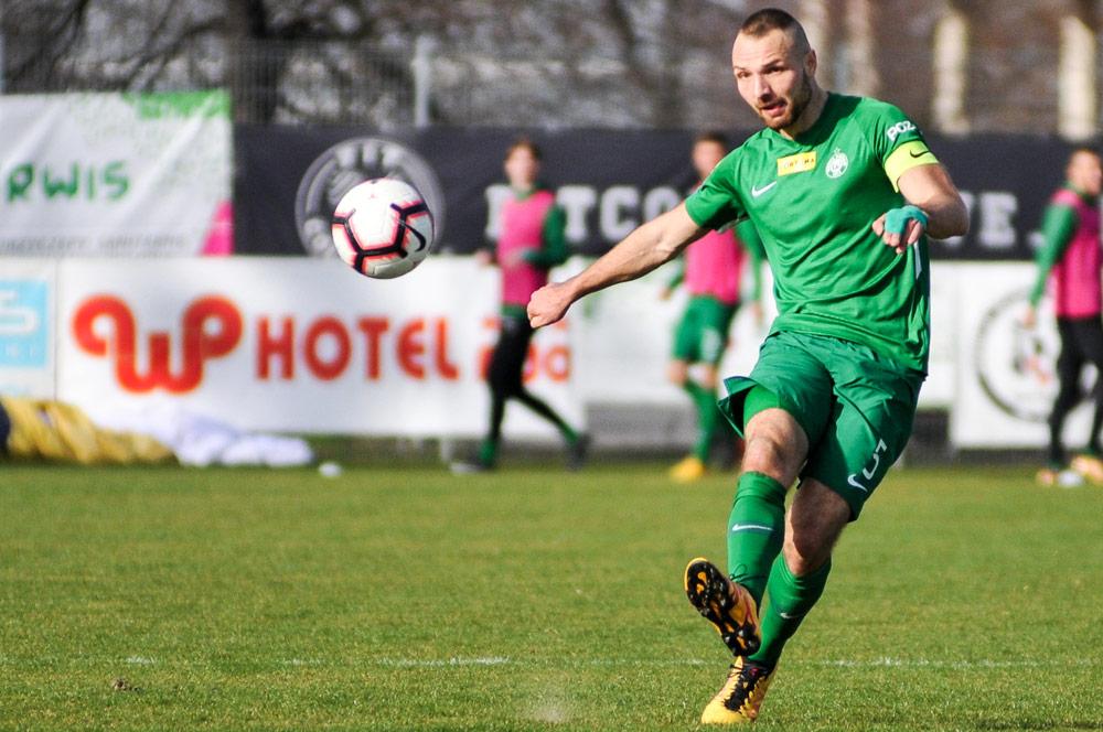 Warta Poznań - GKS Tychy. Bartosz Kieliba