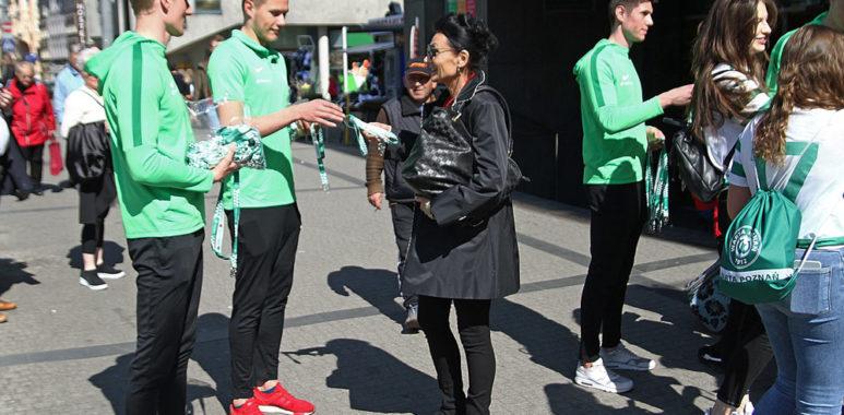 Akcja promocyjna Warty Poznań