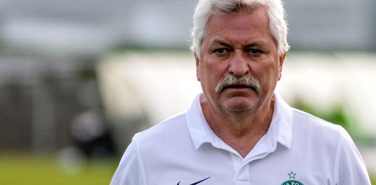 Trener Warty Poznań Petr Nemec