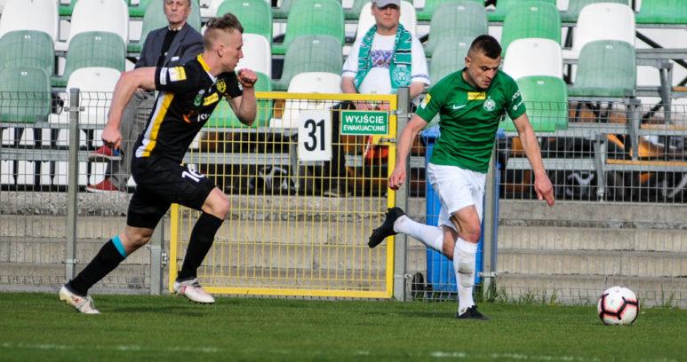 Warta Poznań - GKS 1962 Jastrzębie 0:0. Michał Jakóbowski