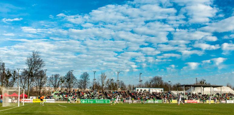 Warta Pozanń - GKS Tychy; fot. Adam Ciereszko