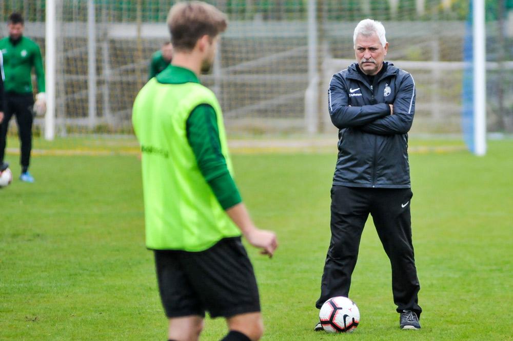 Trener Petr Nemec (Warta Poznań)