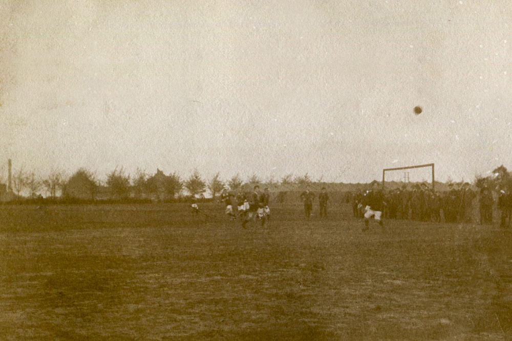 Rok 1912 - najstarsze zdjęcie z meczu Warty Poznań