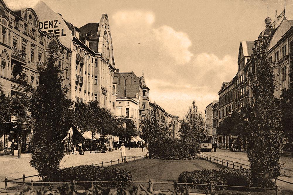 Poznań, św. Marcin w 1914 roku