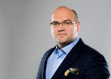 Marcin Janicki, przewodniczący rady nadzorczej Warty Poznań S.A.; fot. Adam Ciereszko