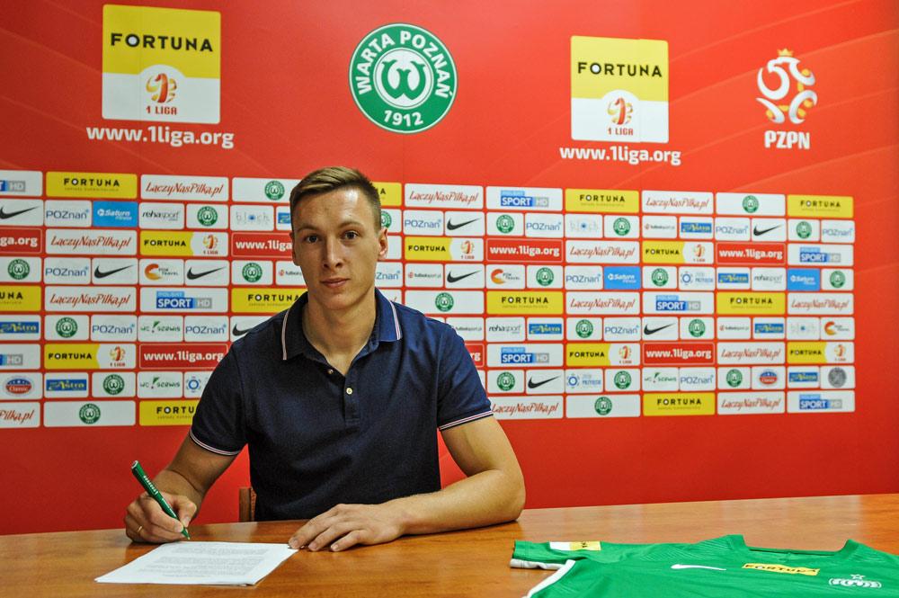 Mateusz Kupczak podpisał kontrakt z Wartą Poznań