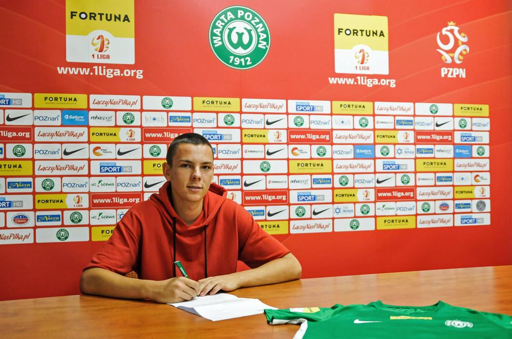 Sebastian Olszewski podpisał kontrakt z Wartą Poznań
