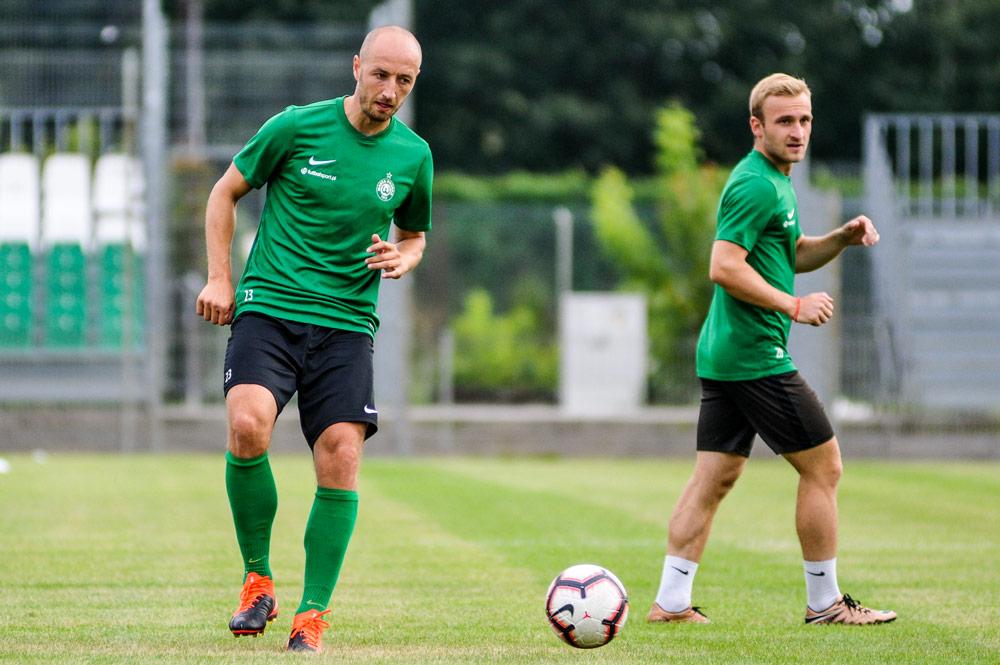 Łukasz Trałka trenuje z Wartą Poznań