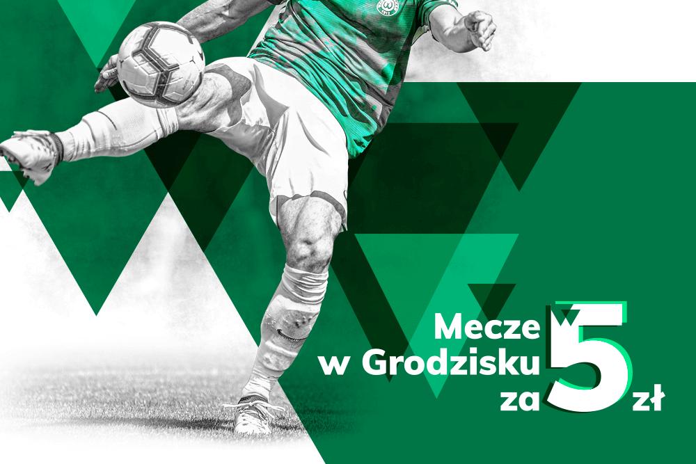 Bilet na mecz Warty Poznań w Grodzisku Wlkp. za 5 zł