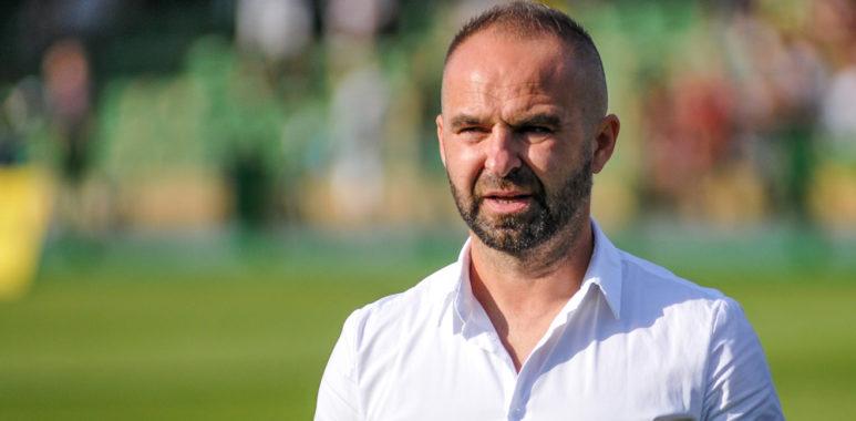 Warta Poznań - GKS Bełchatów. Trener Piotr Tworek