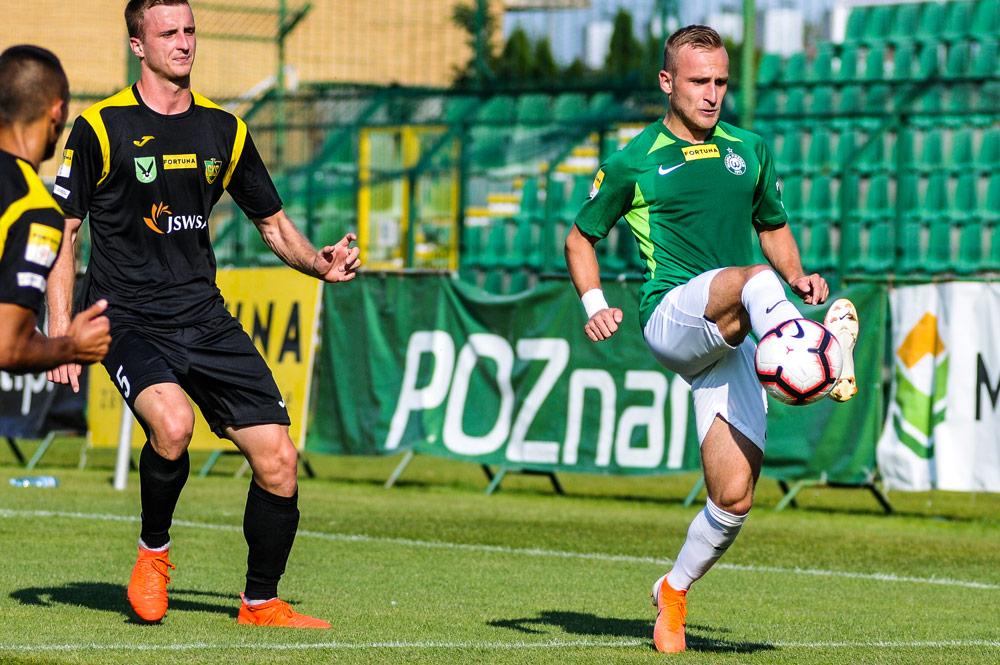 Warta Poznań - GKS Jastrzębie 1:1. Robert Janicki