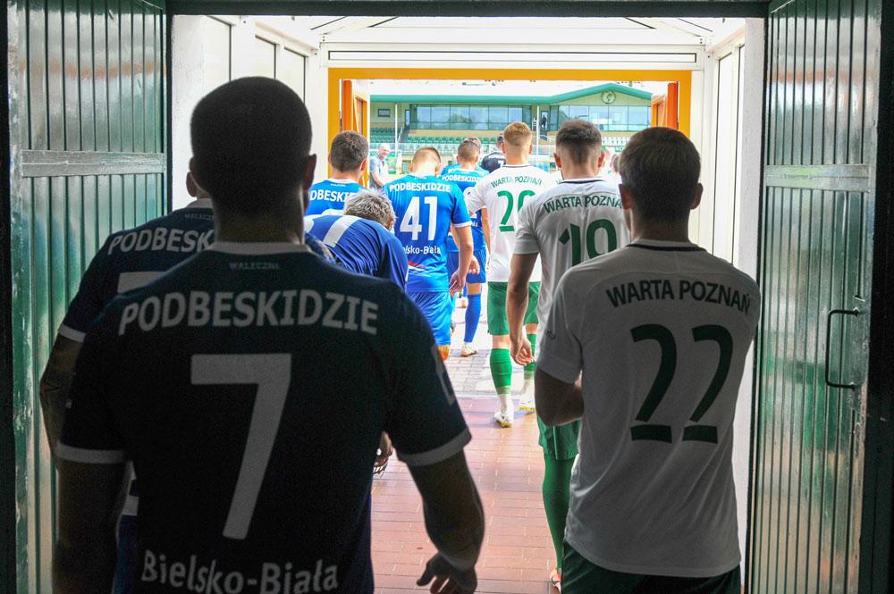 Warta Poznań - Podbeskidzie Bielsko-Biała 1:0 w sparingu