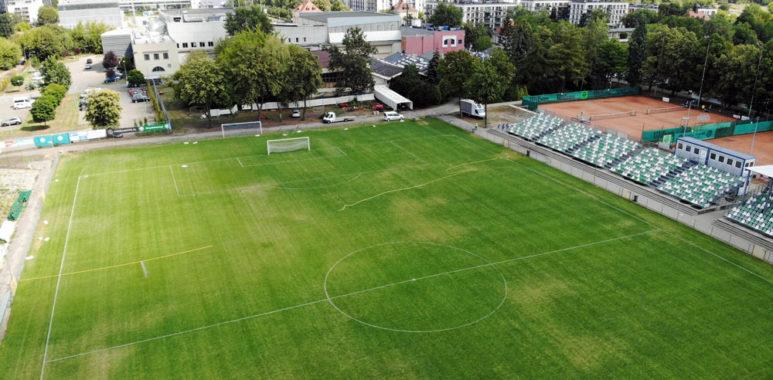 Wkrótce rozpocznie się budowa jupiterów na stadionie Warty Poznań