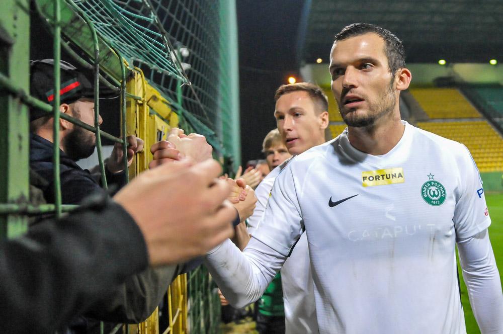 GKS Katowice - Warta Poznań 0:0 w Pucharze Polski. Tomasz Boczek