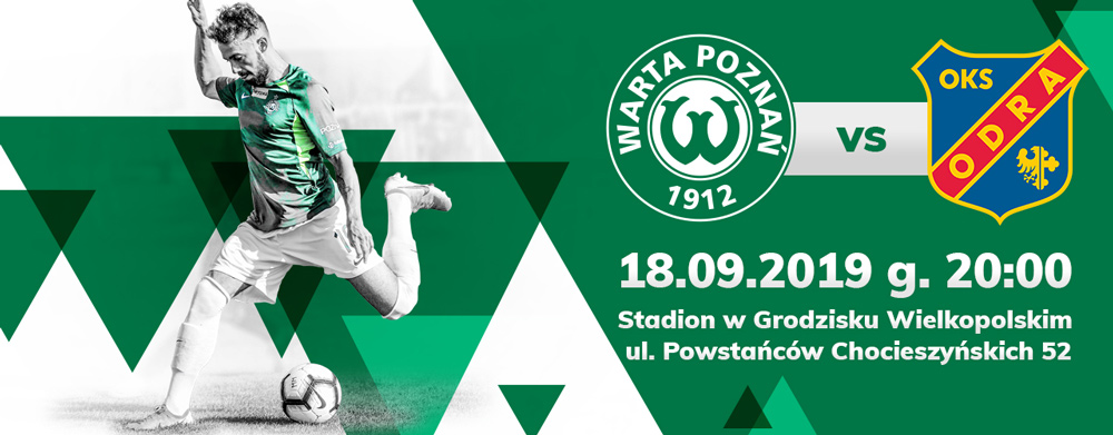 Bilet na mecz Warta Poznań - Odra Opole