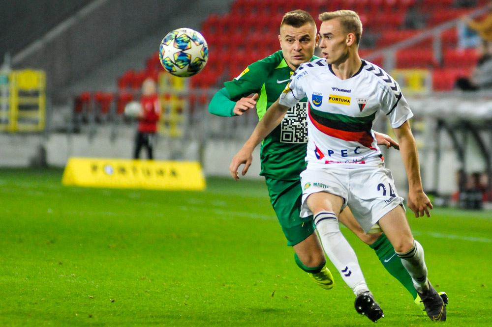 GKS Tychy - Warta Poznań 1:1. Michał Jakóbowski