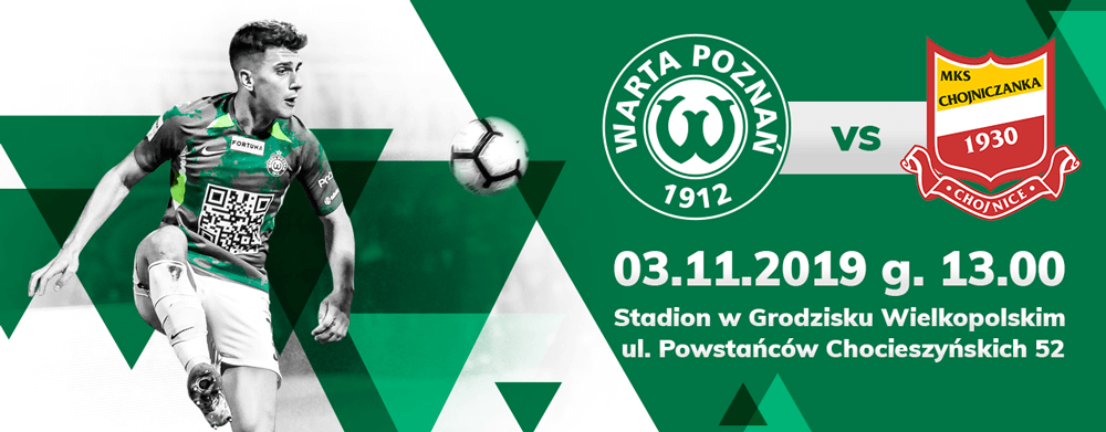 Bilet na mecz Warta Poznań - Chojniczanka Chojnice już za 5 zł
