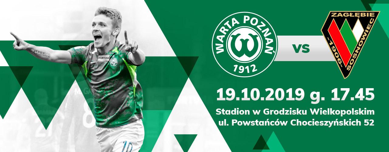 Bilety na mecz Warta Poznań - Zagłębie Sosnowiec