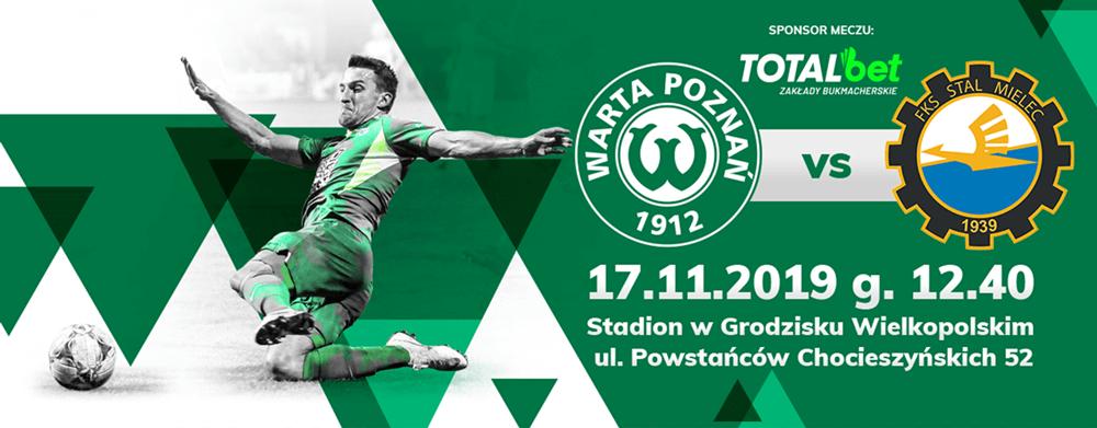 Bilet na mecz Warta Poznań - Stal Mielec już za 5 zł