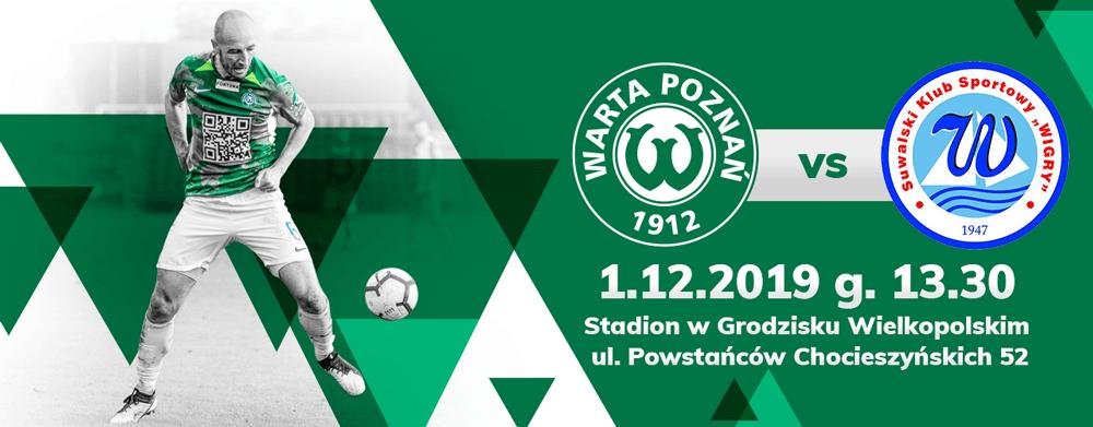 Bilet na mecz Warta Poznań - Wigry Suwałki już za 5 zł