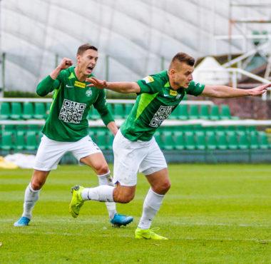 Warta Poznań - Chojniczanka Chojnice 2:0. Michał Jakóbowski i Mateusz Kupczak