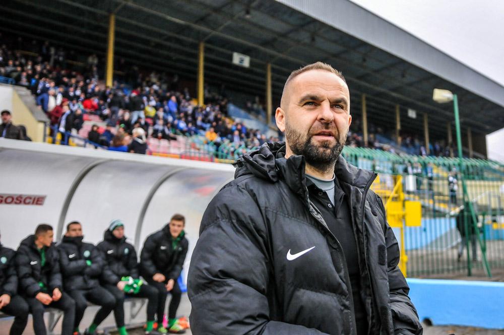 Piotr Tworek, trener Warty Poznań
