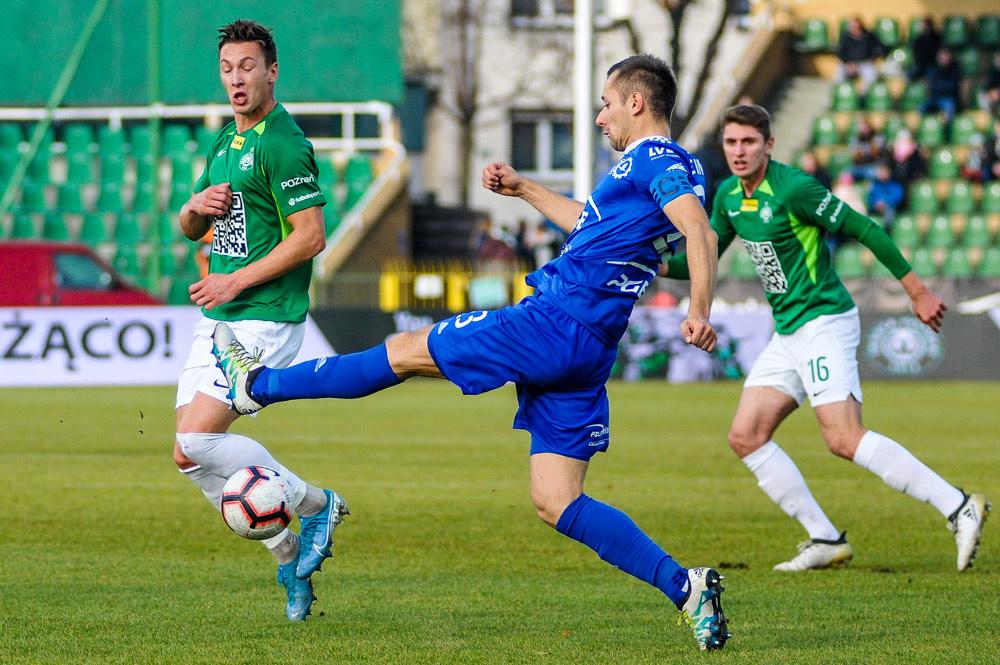 Warta Poznań - Stal Mielec 0:2. Mateusz Kupczak