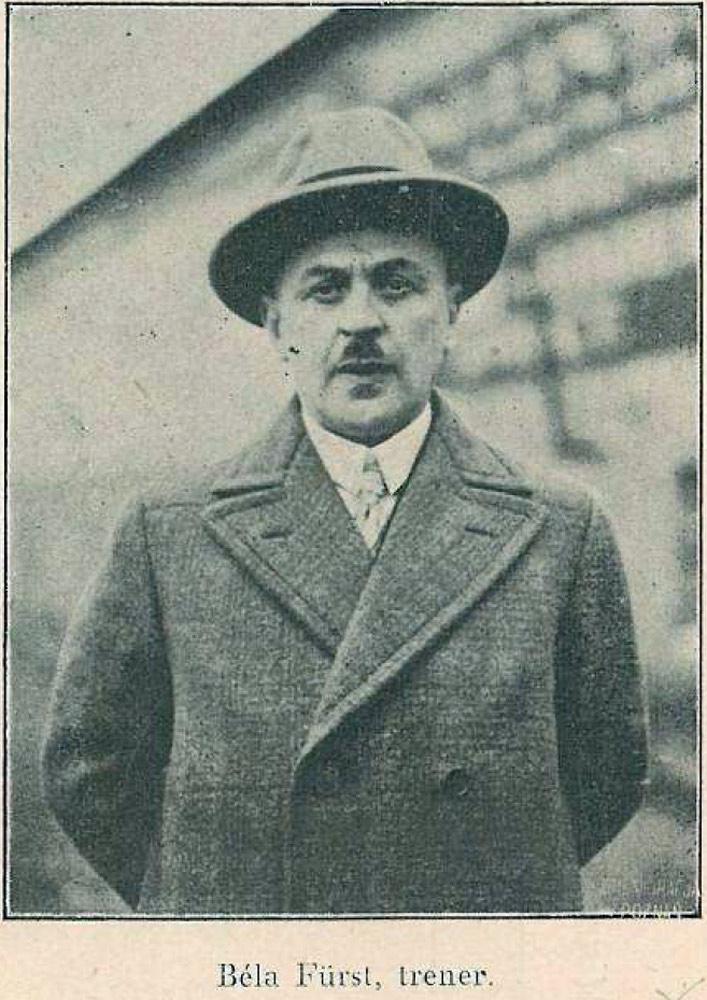 Bela Furst, trener Warty Poznań