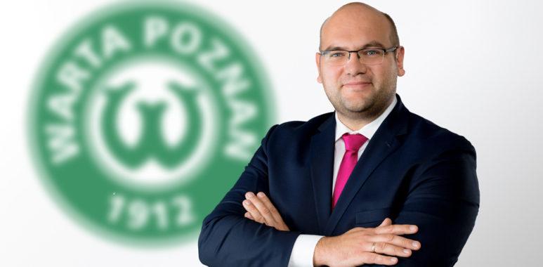 Marcin Janicki, przewodniczący rady nadzorczej Warty Poznań