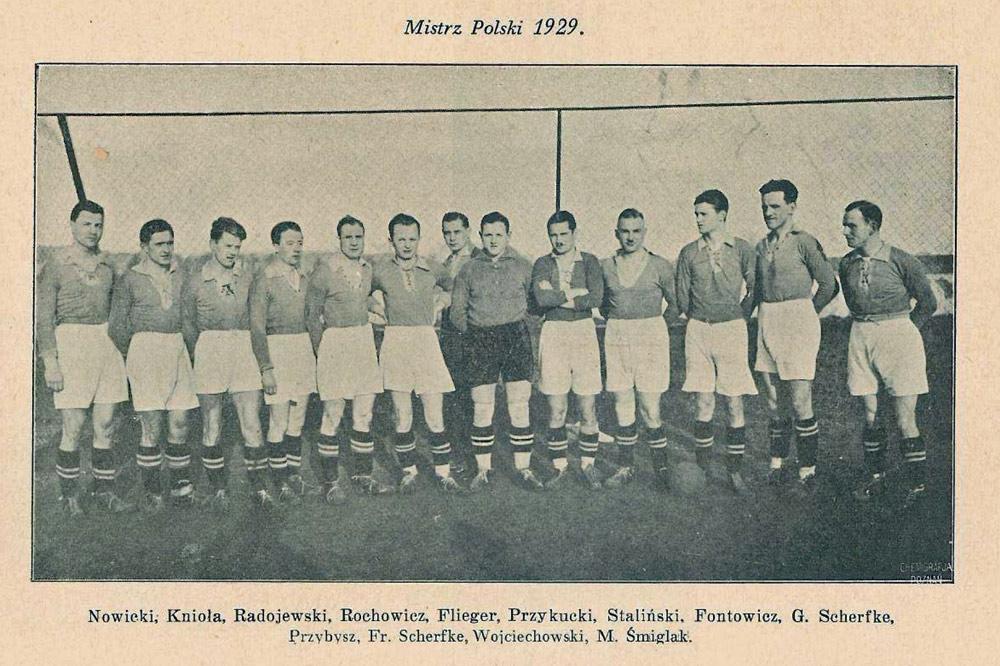 Warta Poznań, mistrz Polski 1929