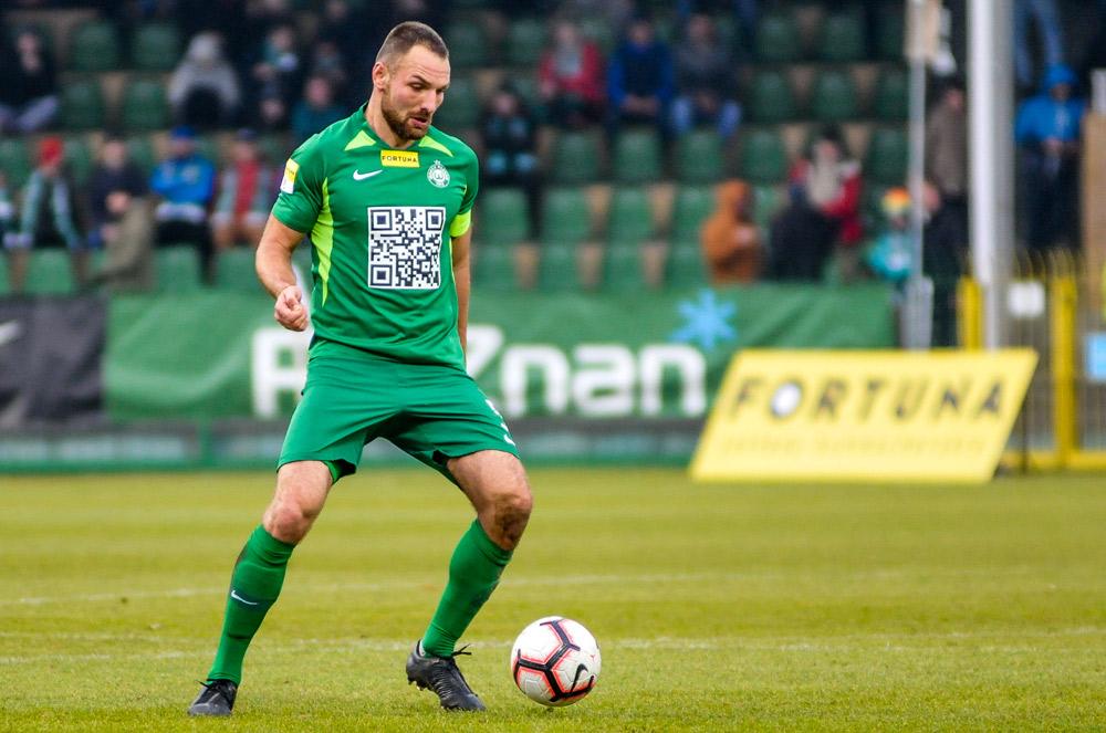 Warta Poznań - Wigry Suwałki 3:0. Bartosz Kieliba