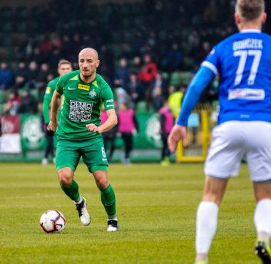 Warta Poznań - Wigry Suwałki 3:0. Łukasz Trałka