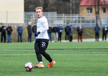 Unia Swarzędz - Warta Poznań 0:3 w sparingu. Robert Janicki