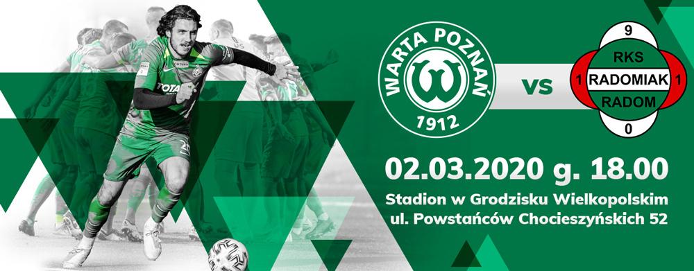 Kup bilet na mecz Warty Poznań z Radomiakiem Radom