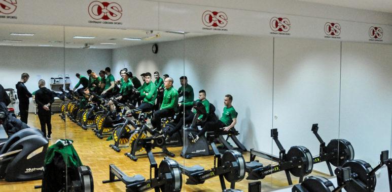 Warta Poznań w Centralnym Ośrodku Sportu w Cetniewie