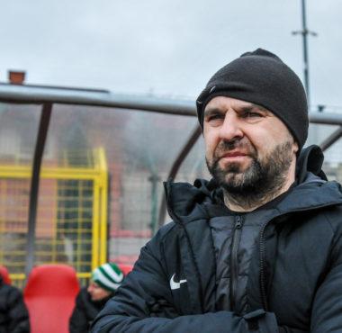 Chojniczanka Chojnice - Warta Poznań 1:1. Trener Piotr Tworek