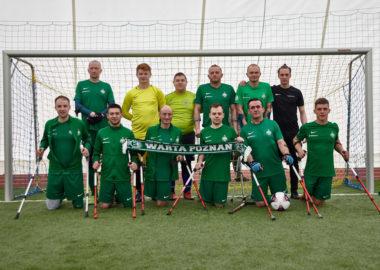 Drużyna amp futbolu Warty Poznań
