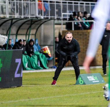Warta Poznań - Radomiak Radom 3:0. Trener Piotr Tworek