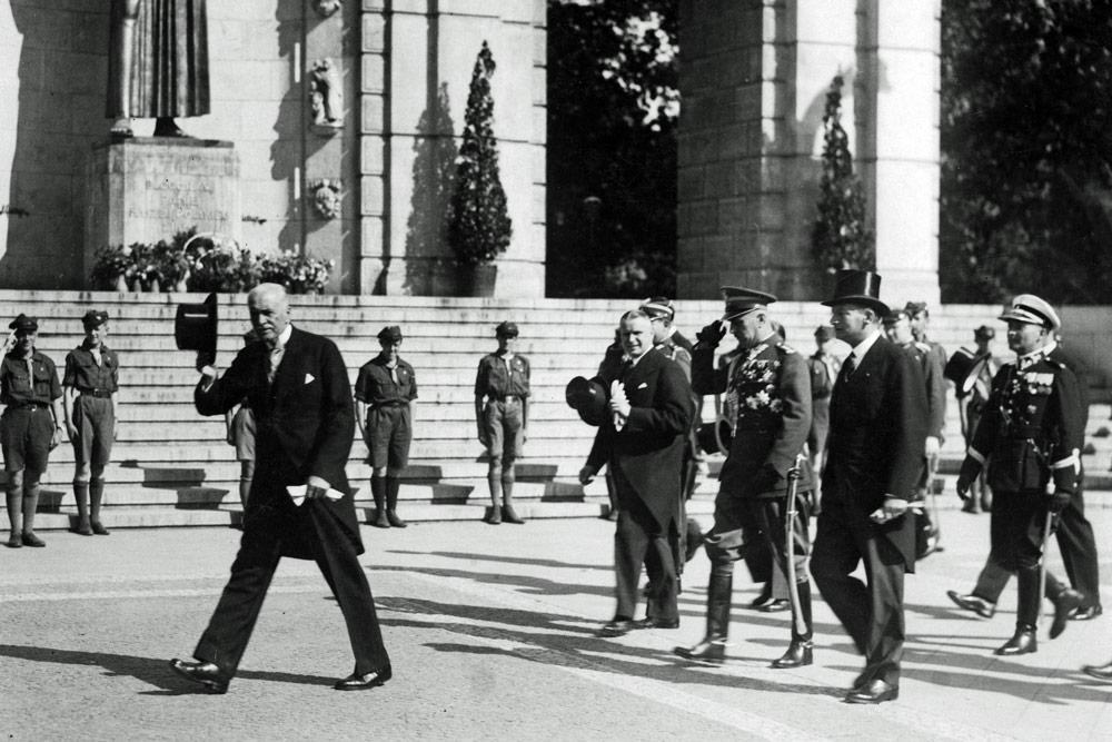 Prezydent RP Ignacy Mościcki w Poznaniu w 1933 roku