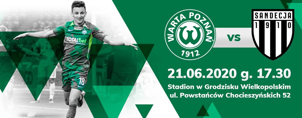 Bilet na mecz Warta Poznań - Sandecja Nowy Sącz