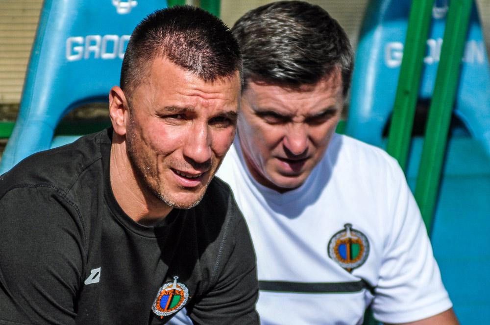 Warta Poznań - Chrobry Głogów 1:2. Trener Ivan Djurdjević