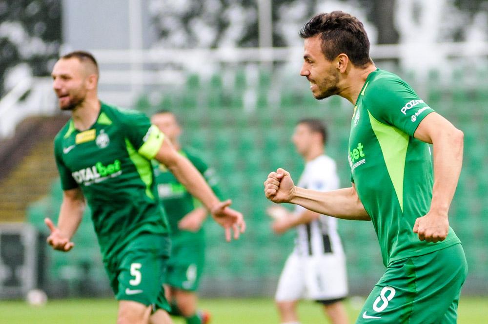 Warta Poznań - Sandecja Nowy Sącz 2:0. Krzysztof Danielewicz