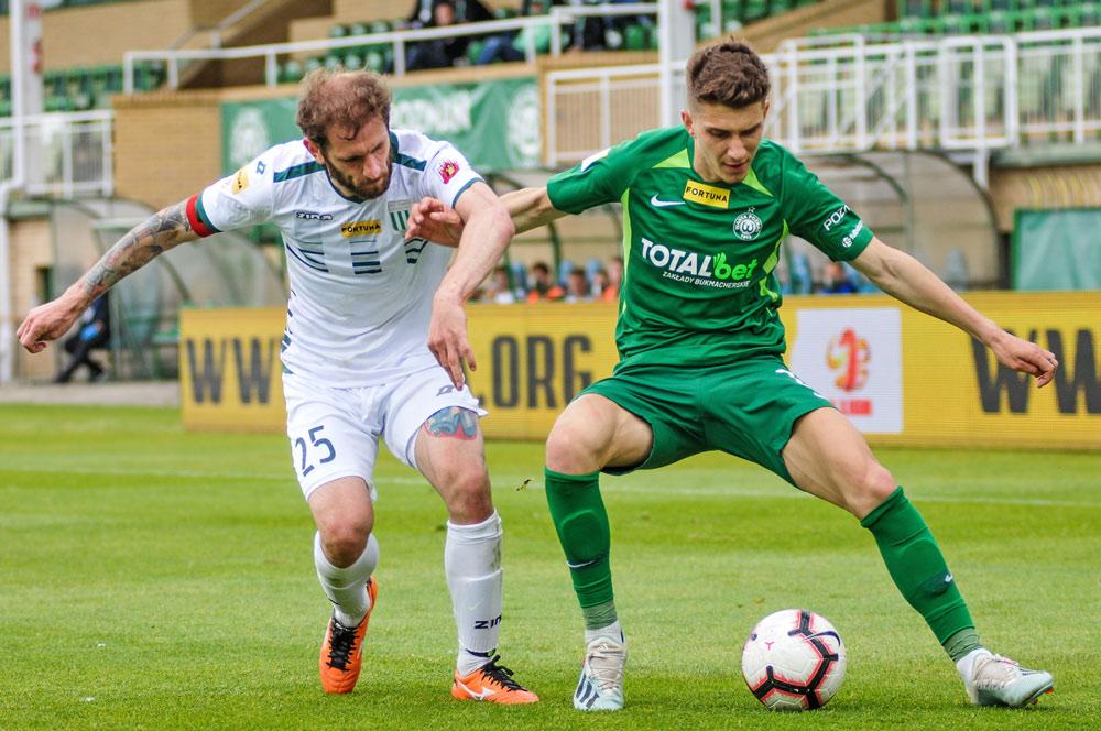Warta Poznań - Olimpia Grudziądz 2:0. Serhij Napołow