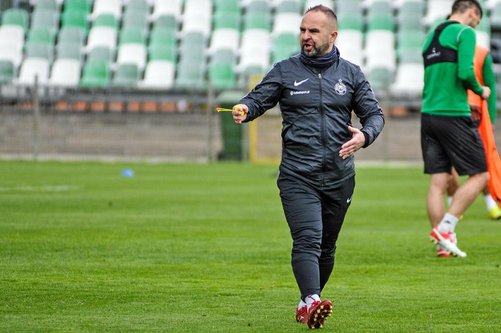 Trener Warty Poznań Piotr Tworek