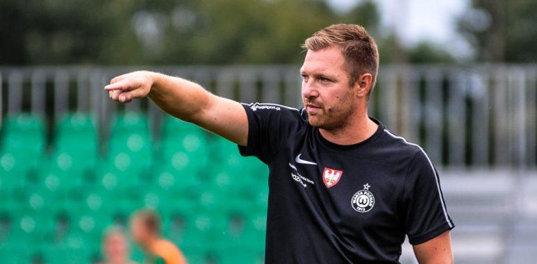 Bartosz Majchrzak, trener Warty II Poznań