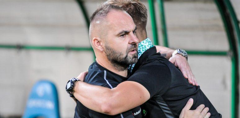 Warta Poznań - Bruk-Bet Termalica Nieciecza 1:0. Trener Piotr Tworek